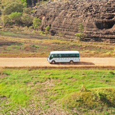 Arnhem Land Day Tours - small groups in a comfortable, air-conditioned bus