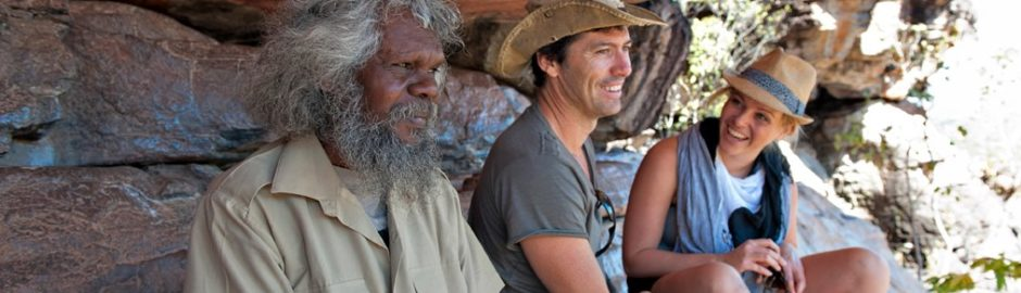 Arnhem Land Day Tours - visitors and their aboriginal guide