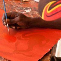 man-painting-at-art-centre-200x200 Mikinj Valley (Red Lily) Arnhem Land sightseeing tour – departs Jabiru